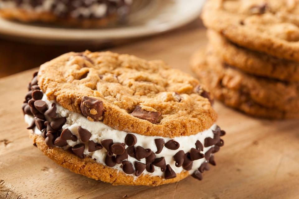 Gelato biscotto cookie fatto in casa